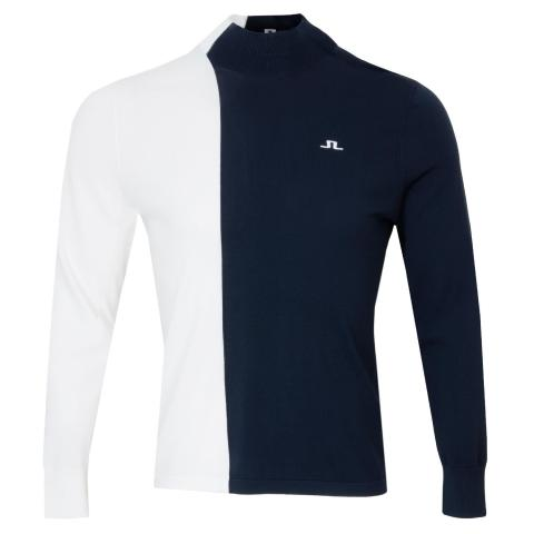 J Lindeberg Calix Turtle Neck Sweater JL Navy