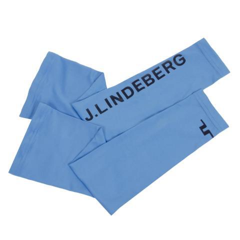 J Lindeberg Enzo Soft Compression Sleeves Ocean Blue