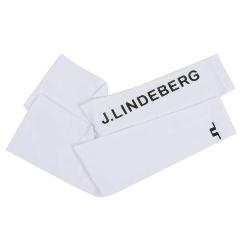 J Lindeberg Enzo Soft Compression Sleeves White SS21