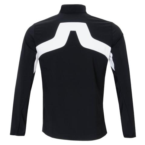 J Lindeberg KV Hybrid Golf Jacket Black