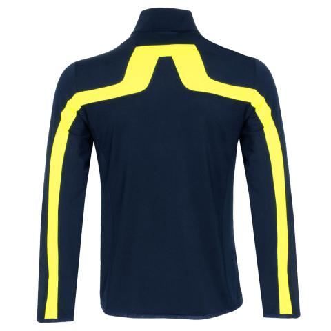 J Lindeberg Seasonal Jarvis Sweater Leaf Yellow