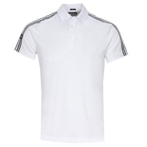 J Lindeberg Louis Polo Shirt White