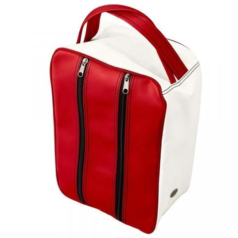 Jones Classic Golf Shoe Bag Red