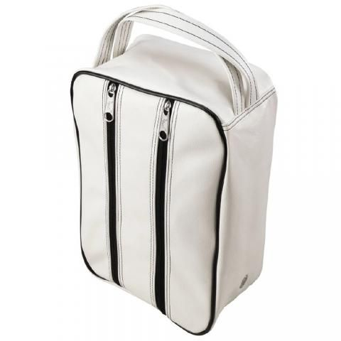 Jones Classic Golf Shoe Bag White