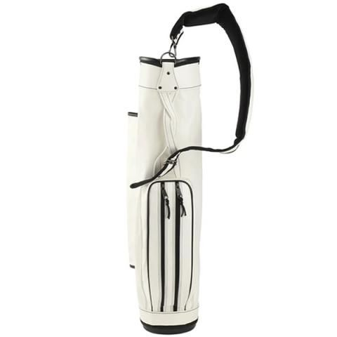 Jones Golf Bags Original Stripeshow Carry Bag White