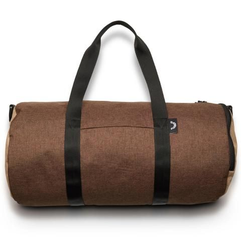 Jones Varsity Duffle Bag Brown/Sand
