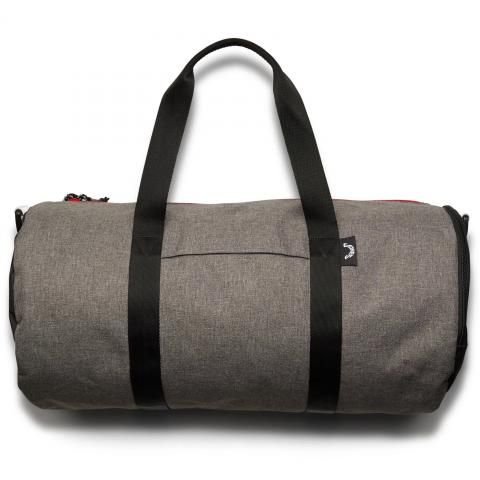 Jones Varsity Duffle Bag Charcoal