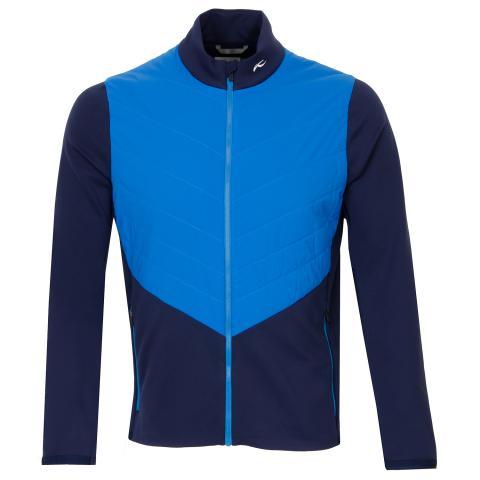 KJUS Release Windproof Jacket Atlanta Blue/Aruba Blue