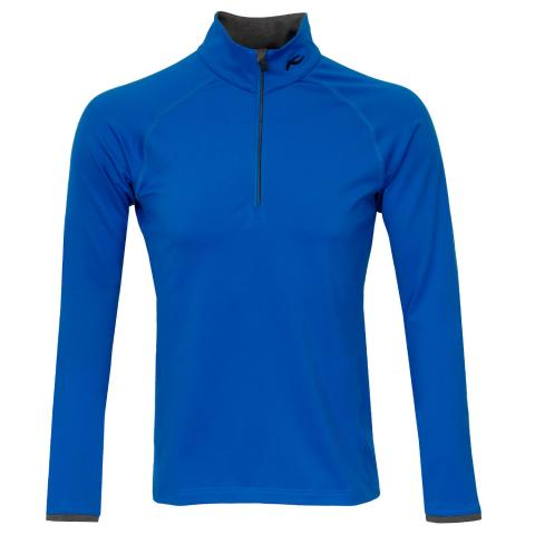KJUS Feel Half Zip Sweater Aruba Blue