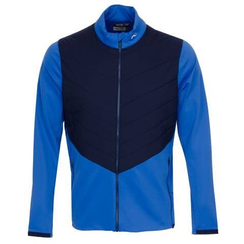 KJUS Release Full Zip Jacket Strong Blue/Atlanta Blue