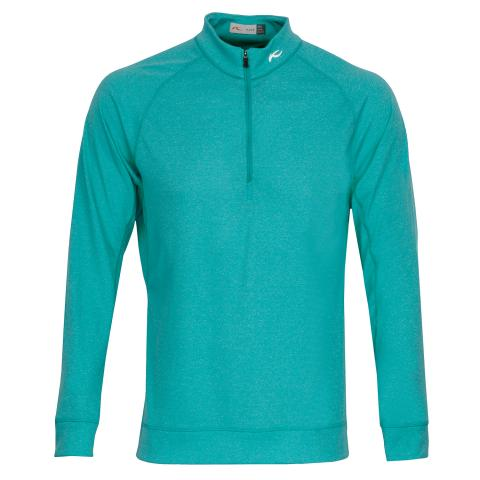 KJUS Keano Half Zip Sweater Surfers Blue Melange