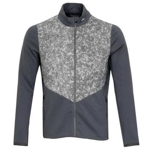 KJUS Release Printed Windproof Golf Jacket