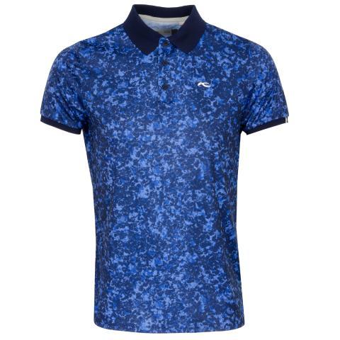 KJUS Spot Printed Golf Polo Shirt