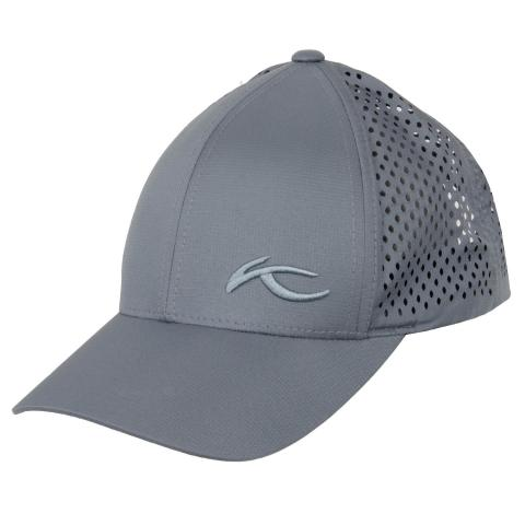 KJUS Laser Space Baseball Cap Steel Grey