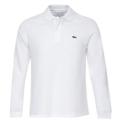 104bfba4e Lacoste Classic Long Sleeved Polo Shirt