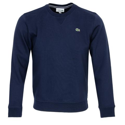 f47bb9d393 Lacoste Crew Neck Sweater Navy