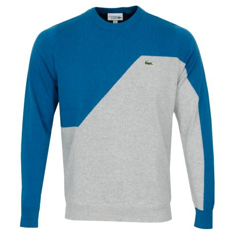 Lacoste Breathable Knit Crew Neck Sweater