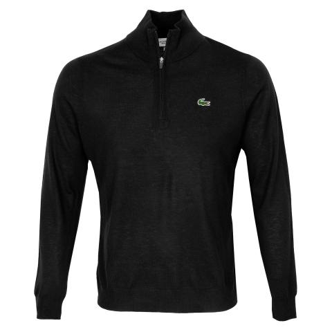 Lacoste Solid Breathable Knit Sweater