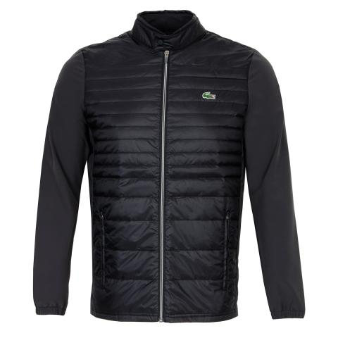 Lacoste Quilted Full Zip Jacket