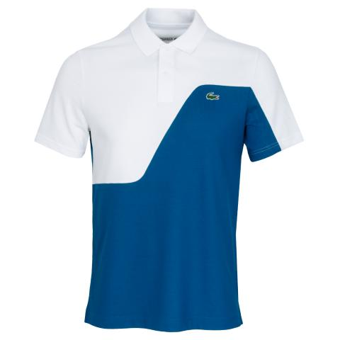 Lacoste Two-Tone Breathable Pique Polo Shirt