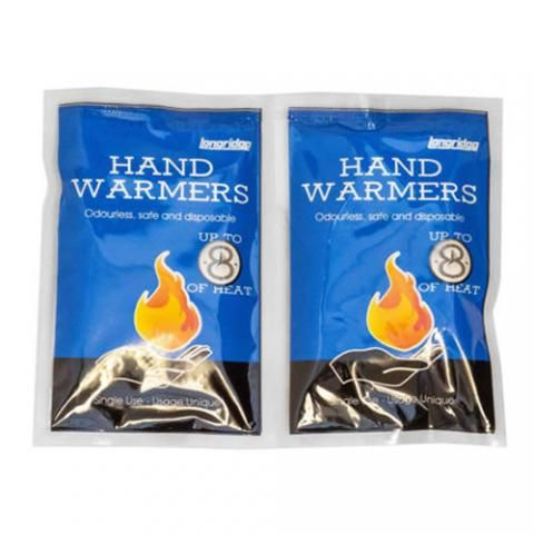 Longridge 8 Hour Single Use Hand Warmer Pack of 2