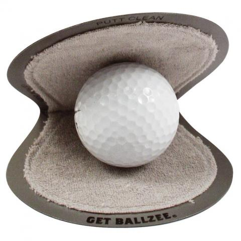 Masters BallZee Pocket Golf Ball Cleaner Pack of 2