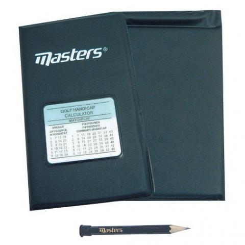 Masters Deluxe Golf Scorecard Holder Keep your card organised in style