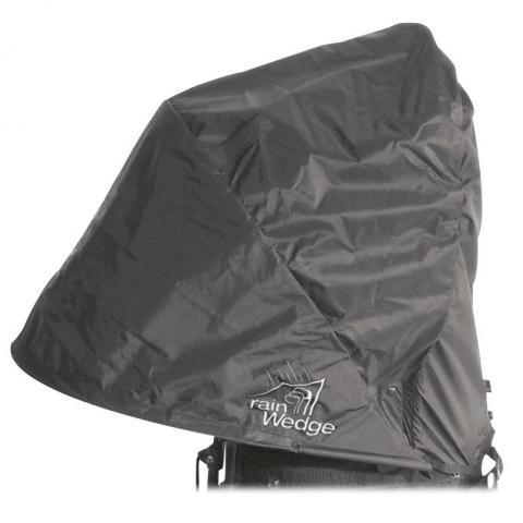 Rain Wedge Waterproof Rain Hood Black