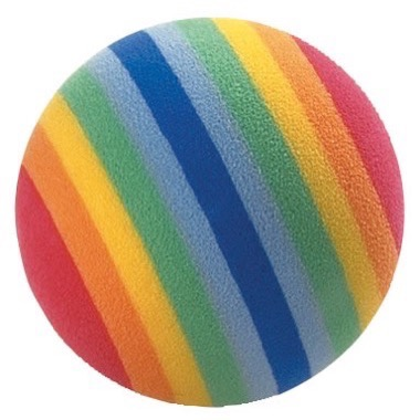 Masters Rainbow Foam Practice Golf Balls Pack of 6