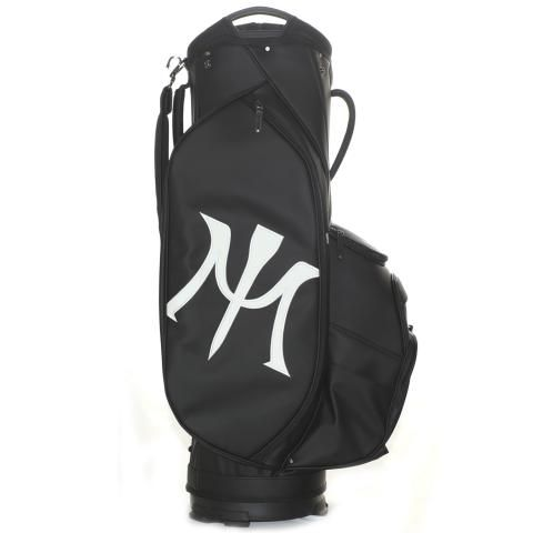 Miura by Vessel Limited Edition Golf Cart Bag Black/White