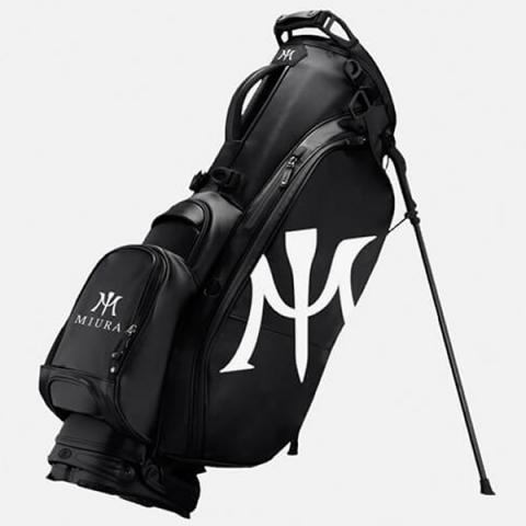 Miura by Vessel Limited Edition Golf Stand Bag 2.0 Black/White
