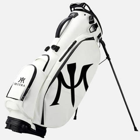 Miura by Vessel Limited Edition Golf Stand Bag 2.0 White/Black