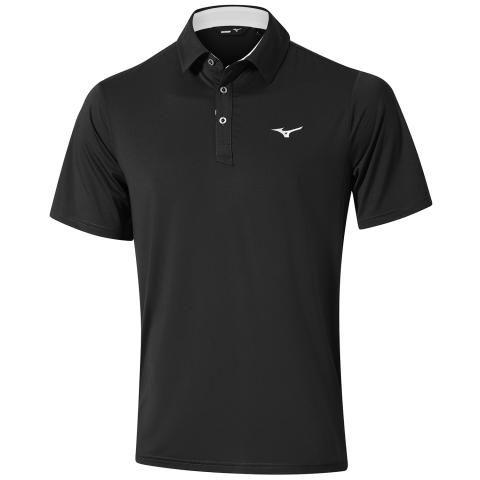 Mizuno Quick Dry Performance Polo Shirt Black