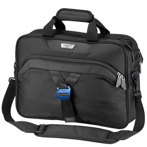 Mizuno Messenger Briefcase Black