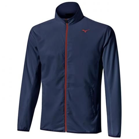 Mizuno Move Tech Lite Windproof Jacket Deep Navy