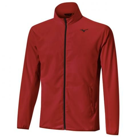Mizuno Move Tech Lite Windproof Jacket Red