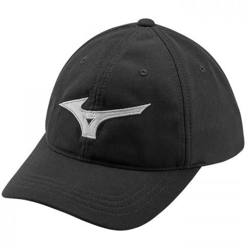 Mizuno Tour Adjustable Baseball Cap Black/Grey