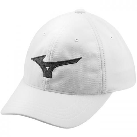 Mizuno Tour Adjustable Baseball Cap White/Black