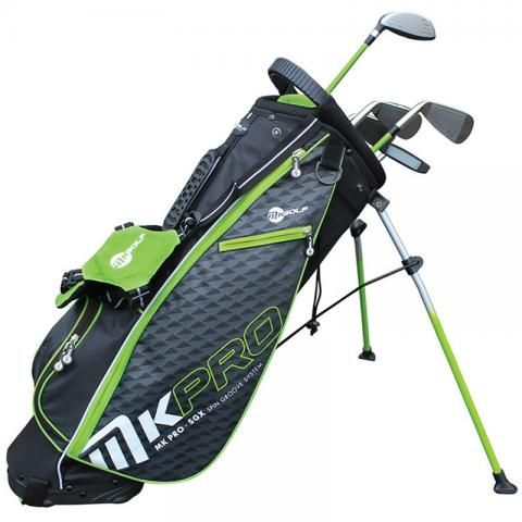 MKids Pro Junior Half Set Right Handed / Green / 57 inches