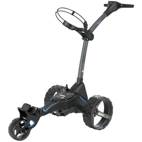 Motocaddy 2020 M5 GPS DHC Electric Golf Trolley Graphite / Lithium Battery