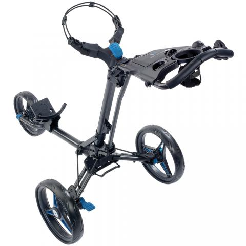 Motocaddy P1 Push Golf Trolley Blue