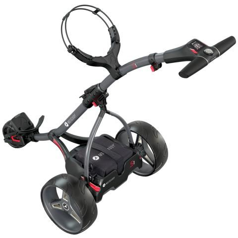 Motocaddy 2020 S1 Electric Golf Trolley Graphite / Lead Acid Battery