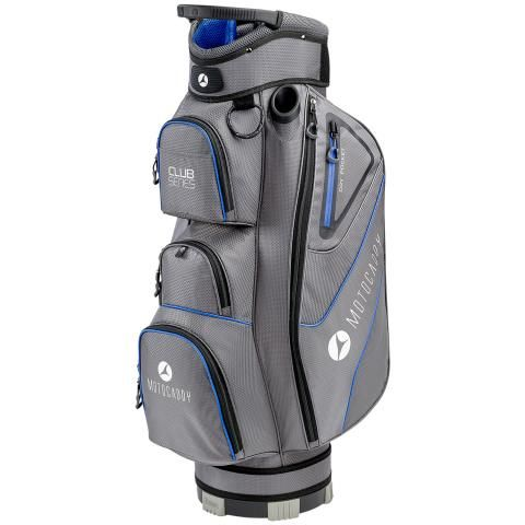 Motocaddy 2020 Club Series Golf Cart Bag Charcoal/Blue