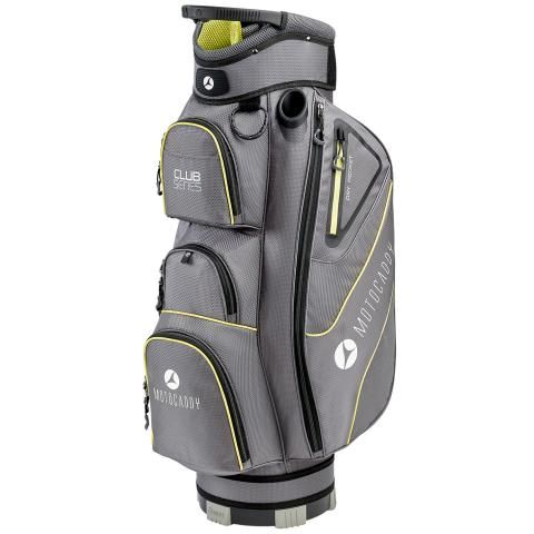 Motocaddy 2020 Club Series Golf Cart Bag Charcoal/Lime