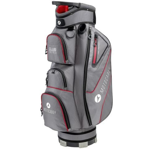 Motocaddy 2020 Club Series Golf Cart Bag Charcoal/Red