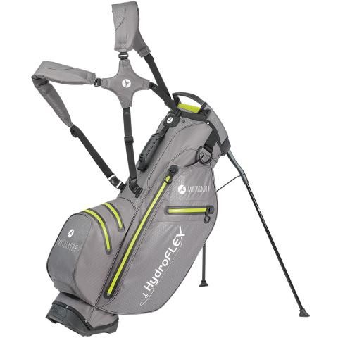 Motocaddy 2020 Hydroflex Waterproof Golf Stand Bag Charcoal/Lime