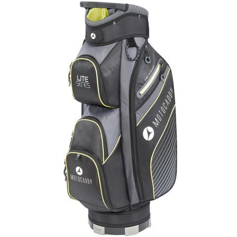 Motocaddy 2020 Lite Series Golf Cart Bag Black/Lime