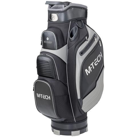 Motocaddy 2020 M-TECH Golf Cart Bag Black/Carbon