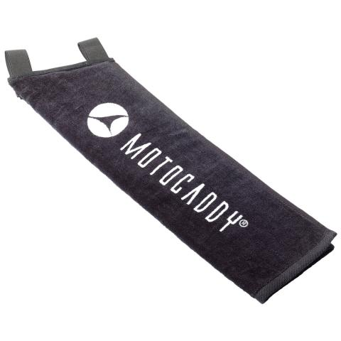Motocaddy Deluxe Trolley Towel Black/White
