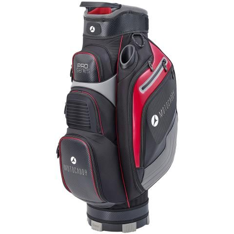Motocaddy 2020 Pro Series Golf Cart Bag Black/Red
